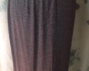 Gray JKLA Maxi Skirt Size Medium