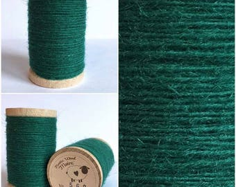 Rustic Moire Wool Thread #560 for Embroidery, Wool Applique and Punch Needle Embroidery
