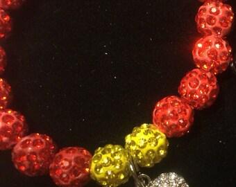 Fireman Cuff stack bracelet