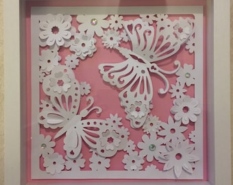 Butterfly Shadow Box