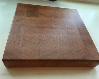 American Cherry End Grain Butcher Block