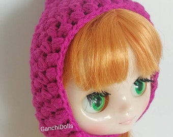 Pixie Hat for Blythe Middie/elf Gnome Hood