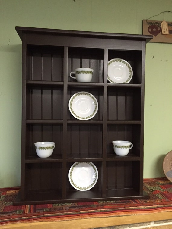 Tea Cup And Saucer Plate Rack And Kitchen Display Shelf