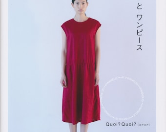 Quoi Quoi Dresses - Japanese Craft Book