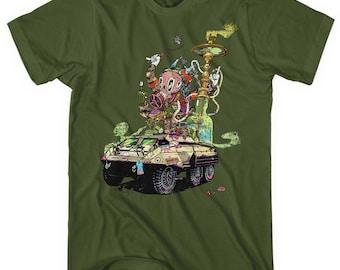 Warpath T-shirt - Men and Unisex - Live Fast Burn Slow Tee - XS S M L XL 2x 3x 4x - 4 Colors