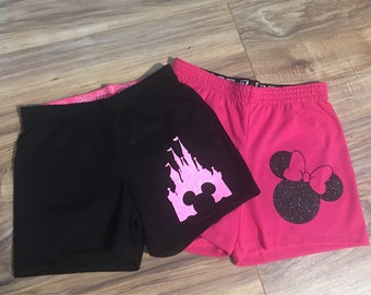 Girls disney shorts!