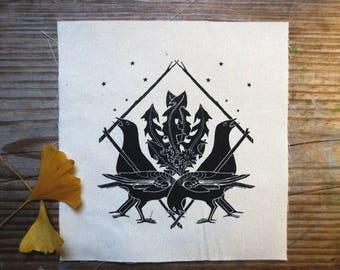 Crow Shield Patch