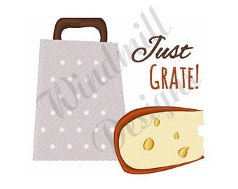 Cheese Grater - Machine Embroidery Design