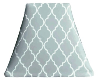 Cloud lampshade etsy quatrefoil cloud slip covers for lampshades mozeypictures Gallery