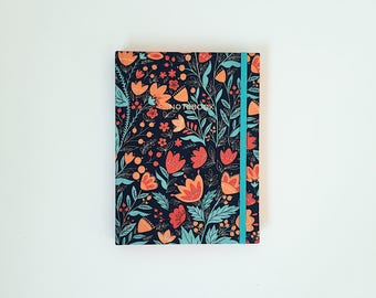 Folk Art Hardback Notebook