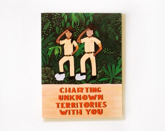 Charting Unknown Territories Card