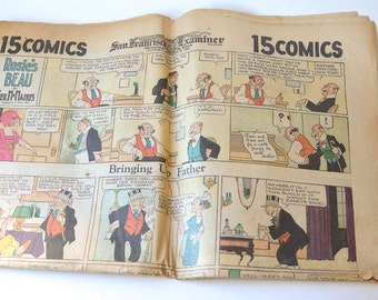 San Francisco Examiner Comics 1927