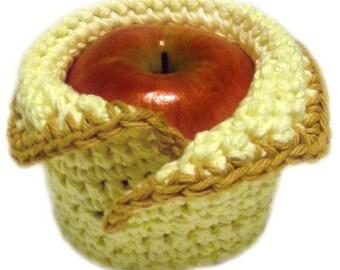 Cozy Apple Sweater - PDF Crochet Pattern - Instant Download