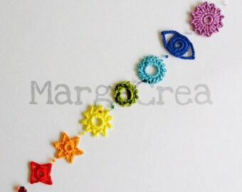 Chakras Crochet Pattern