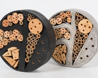 Insect / Bee Hotel - Artificial Habitat - Encourage Native Bees to House & Breed