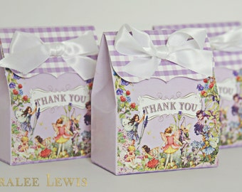Pixie Hollow Favor Boxes by Loralee Lewis