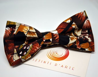 Handmade bow tie for men made up of silk