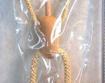 Sisal puppet base large, doll base