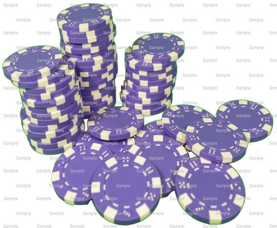 Casino Poker Chips Birthday - Edible Cake and Cupcake Topper For Birthday's and Parties! - D7328
