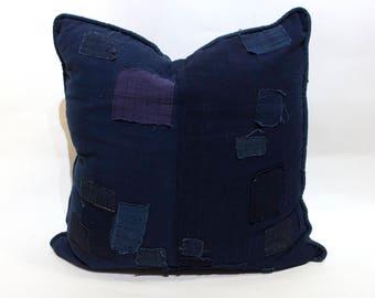 Vintage Japanese Boro Pillow - FREE SHIPPING