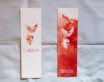 Harry Potter Fawkes - Bookmark