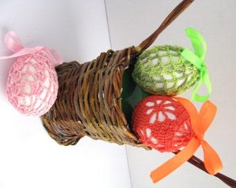 Crochet Easter Egg Covers Pattern, Easter Eggs Crochet Pattern, Two Crochet Patterns, Crochet Easter Eggs