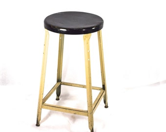 Drafting Stool, metal stool, Industrial
