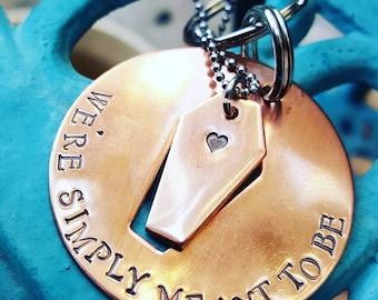 Sarg Schlüsselanhänger set - Goth paar Jahrestag-Jahrestag Geschenk-paar Sarg Schlüsselanhänger Satz-Goth Valentinstag Geschenk-Vamp paar Schlüsselanhänger Satz