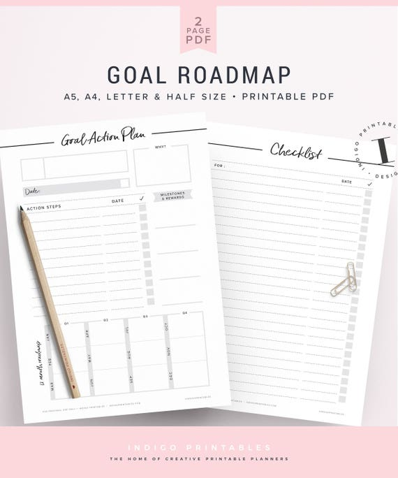 Goal Planner Goal Setting Worksheet 2018 Goals 2018 Goal