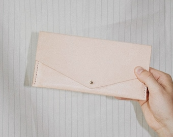 Raw Veg Tanned Wallet