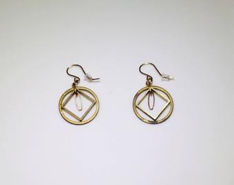 Geometric Metal Earrings