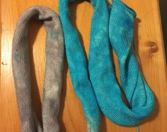 Sock blank teint à la main