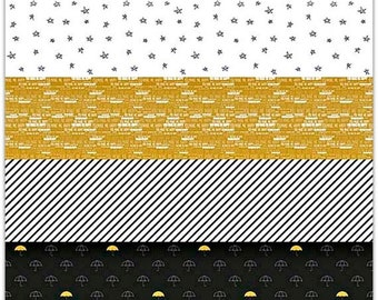 EXTRA 20 30% OFF Simple Simon & Company When Skies are Grey Stripe Black