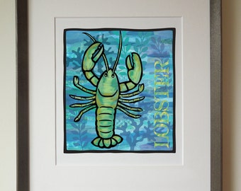Lobster Art Print