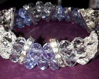 Crystal rhinestone bracelets