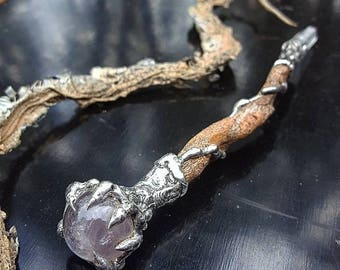 Healing Wand, Altar, Spells, Wicca, Self-Love, Transformation, Occult, Ceremony, Australian Made, Organic, Shamanic, Sacred Tool, Crystal.