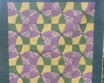Summer, a quilted throw