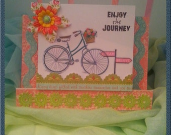 Greeting Card - Enjoy the Journey