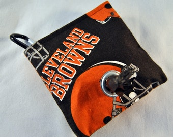 Cleveland Browns Poop Bag Pouch