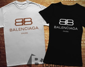 Balenciaga, T-shirt, 100% cotton, for woman style, unisex style