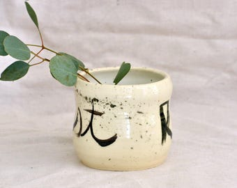 Resist Planter, RESIST, Protest Pottery
