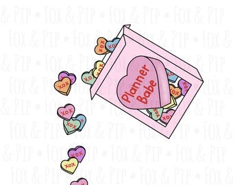 Candy Hearts DIGITAL