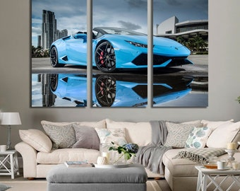 Lamborghini Light Blue