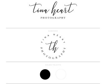 Photography Logo Photography Watermark Real Estate Logo Eye Lash Logo Lash Logo Realtor Logo Blog Logo Email Signature Modern Logo Simple