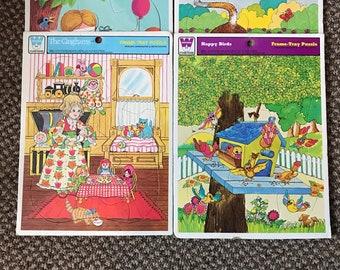 Vintage Childrens puzzles