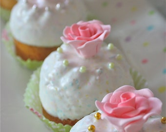 Marie Antoinette Cakes-Let Them Eat Cake-shabby cottage cake-cottage chic-almond cake