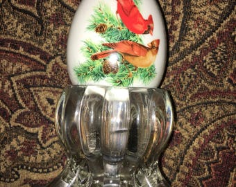 Winter Cardinals , Christmas decor,