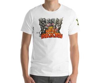 Dungeons & Dragons - Rock Elemental - We Rock You Tee