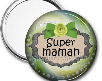 Super MOM Pocket mirror
