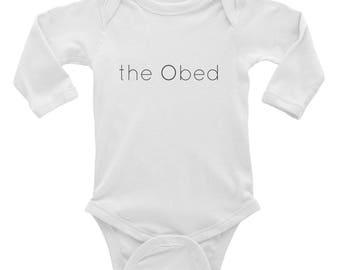 Long sleeved Bodysuit / Infant Long Sleeve Bodysuit